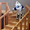 Nao climbing a staircase